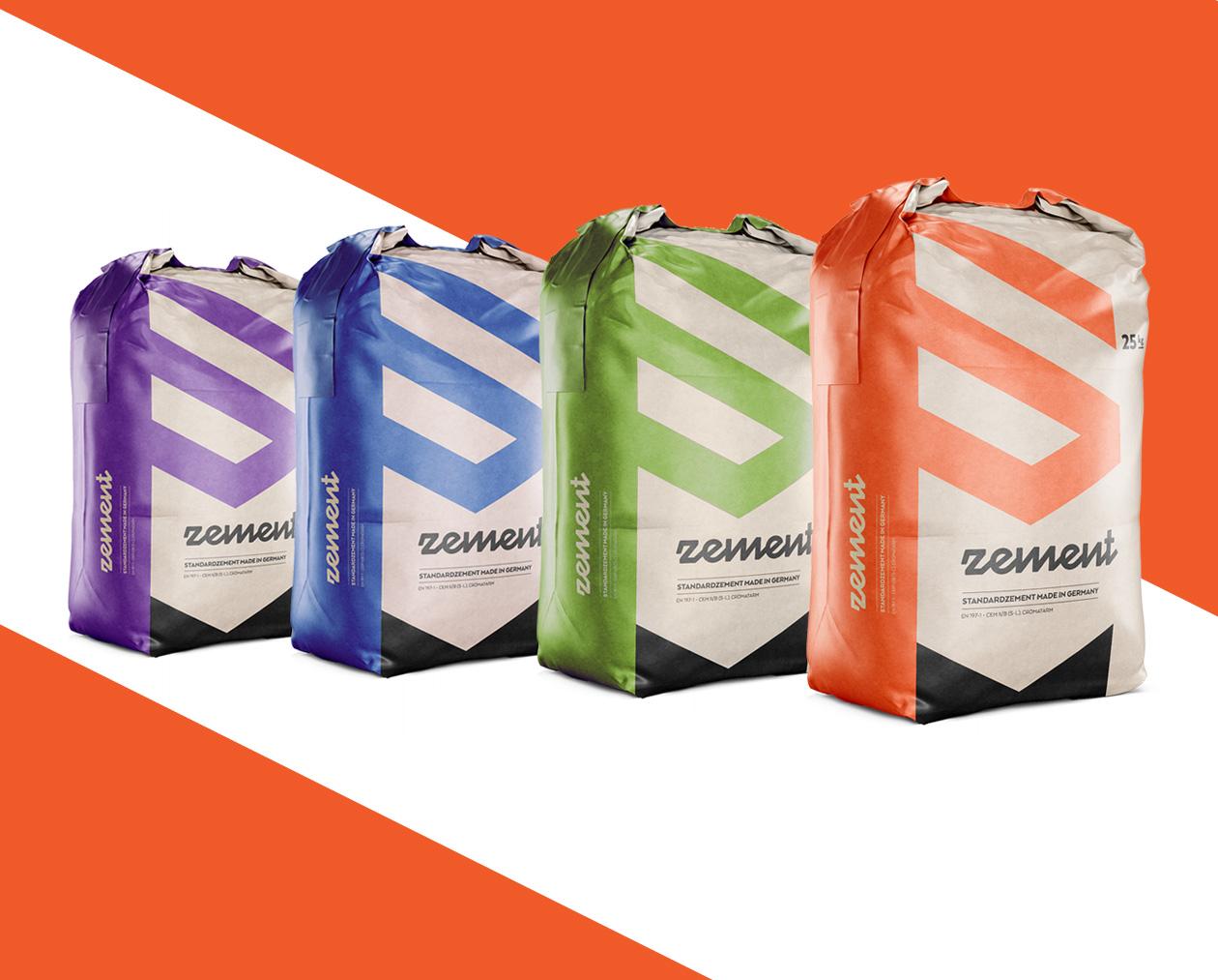 cement zement packaging 2