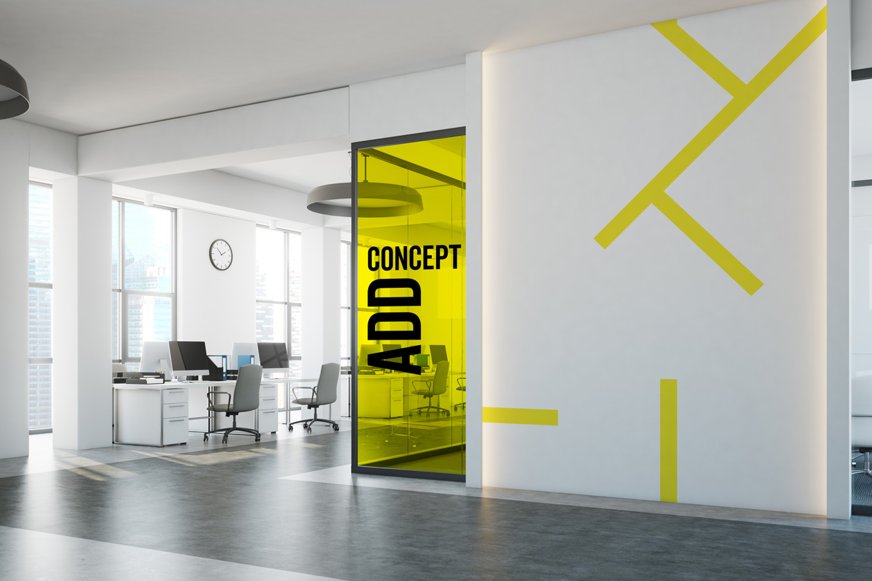 logo branding add concept 03