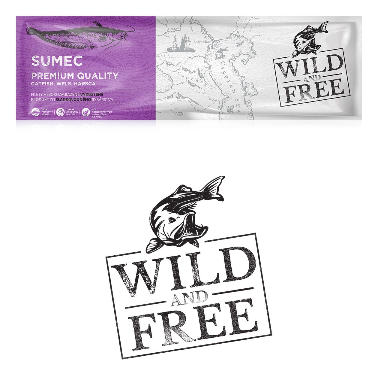 logo branding wild and free 06