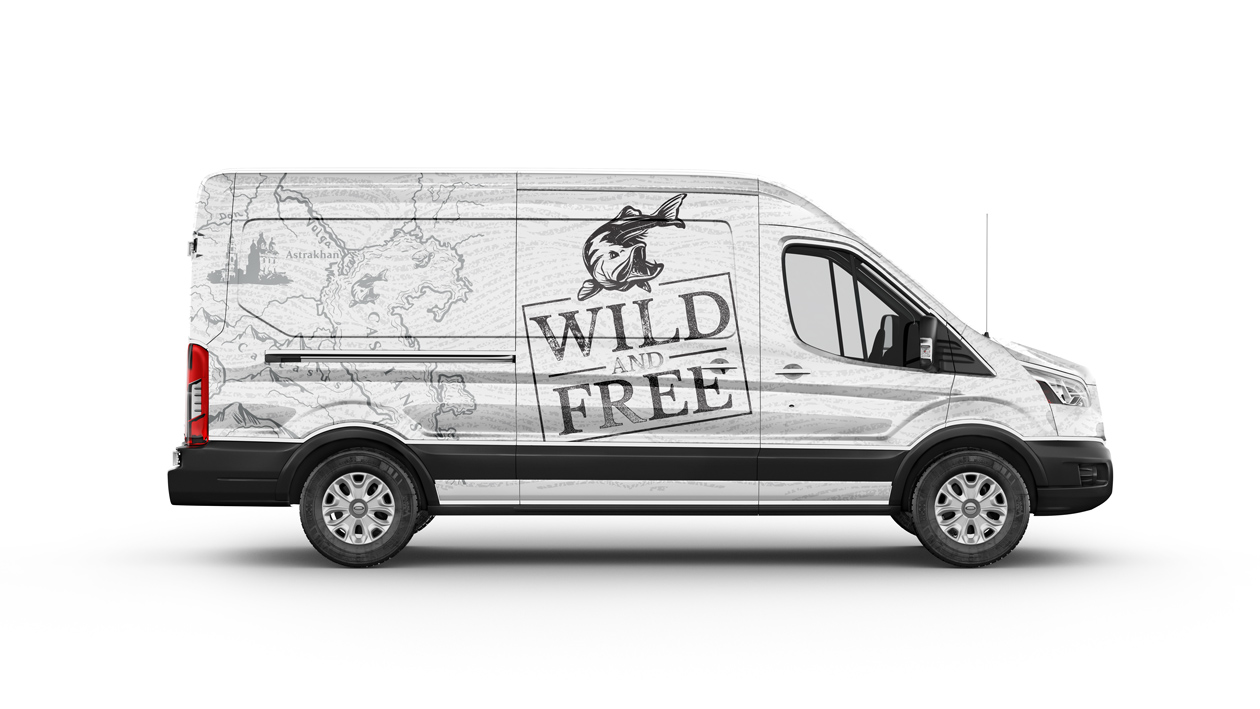 logo branding wild and free 10