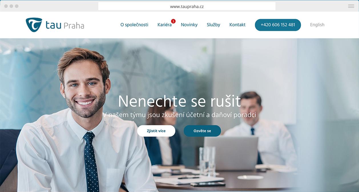 webdesign Tau Praha