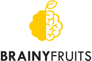 Brainy fruits logo