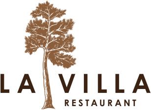 LA VILLA RESTAURANT logo