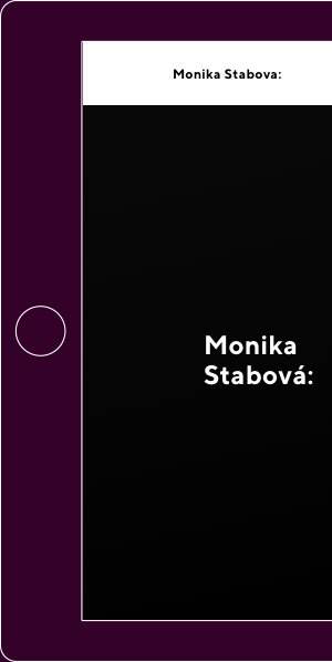 webdesign Monika Stabova Architect