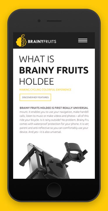 responzivita Brainy Fruits