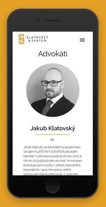 responzivita Klatovský & Svatoň