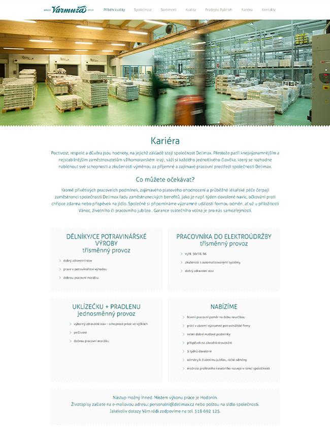 webdesign VARMUZA